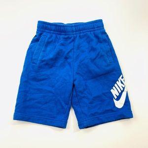 Nike Boys Blue Soft Shorts